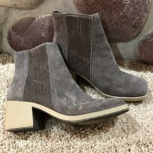 Naya leather ankle booties